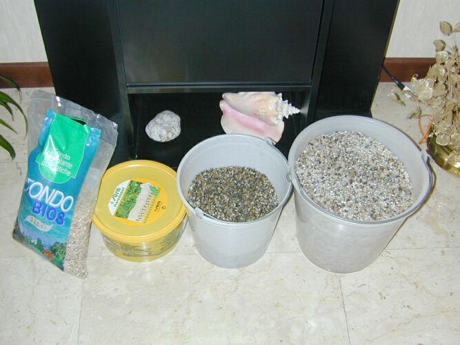 Acquariando e acquari allestimento fondo fertile per for Fondo per acquario